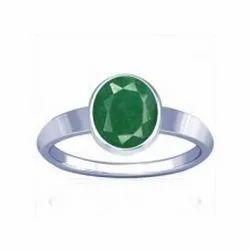 Natural Emerald Sapphire Ring ( Panna )