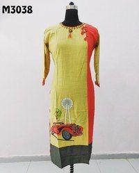 Embroidered Jaipuri Kurti