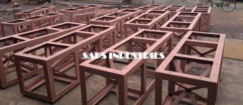 Mild Steel CC Crib for Railway Bridge