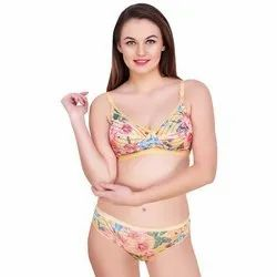 c723fbadf1b Dont Shy Lyon Padded Bra Panty Set at Rs 417.00  piece