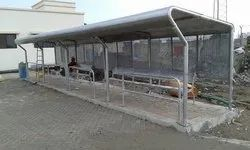 Stainless Steel Bus Stop