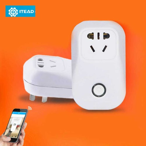 Wifi Smart Socket Plug For Ewelink,alexa, Google Home, Ifttt, Mobile App  Remote Controlled With Auto