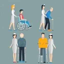 Attended Female Nursing Care Services, Skilled NURSE and RH NURSE, Patient