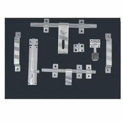 Stainless Steel 3mm Fancy Door Kit, Grade: SS202, Size: 14mmx10