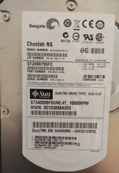 Metal Hard E Hot Swap Sun Fc Hdd 400gb 10k, Dimension/Size: 1kg