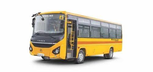 Force Traveller Monobus Scholar 60 Seater Non-AC School Bus, 5200
