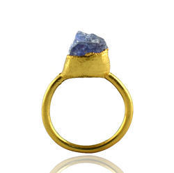Tanzanite Rough Stone Ring
