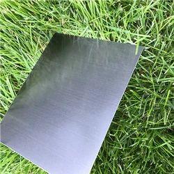 矩形涂层发纹不锈钢板,尺寸(英尺X英尺):4英尺X 8英尺,钢级:SS316 L