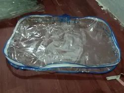 clear SUITCASES BAG, Size: 12x10x3'' Gejad
