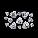 DEF VVS High Quality Trillion Cut Moissanite Diamonds