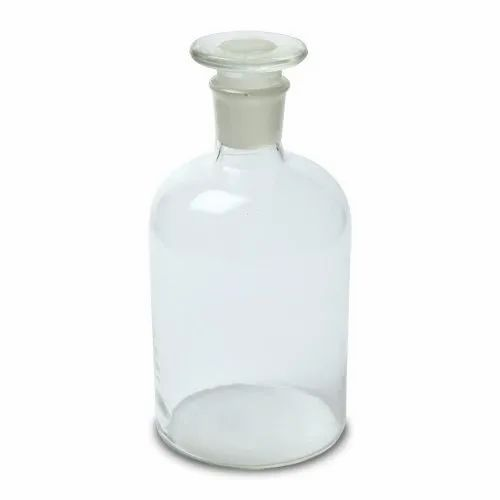 Reagent Bottle clear glass