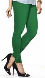 Pakistani Green Mahalaxmi fashion Viscose Lycra Leggings