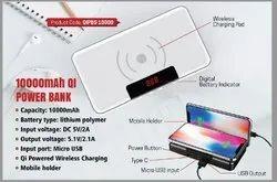 White Power Bank, Capacity: 5001 - 10000 mAH, Dual