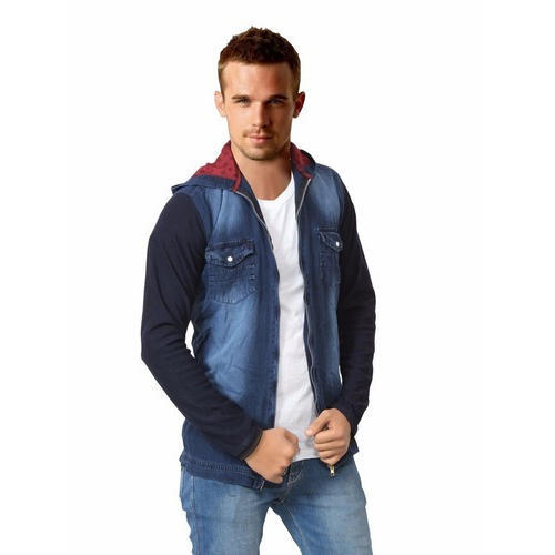 9a94f70fc01 Men's Denim Full Sleeve Jackets, Rs 450 /piece, Gujarat Traders | ID ...
