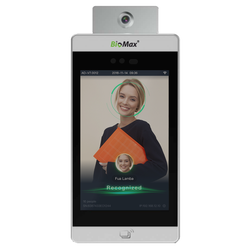 Bio Max Temperature & AI Facial Attendance & Access Control, Products Included: Charger, Model Name/Number: Speedface 8tm