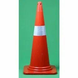 Triangle Orange Traffic Cone, 1.2 Kg