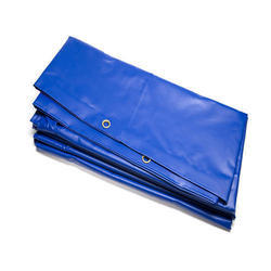 聚乙烯(HDPE) GSM 70蓝色HDPE塑料防水布