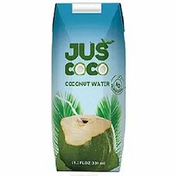 JUSCOCO & OEM Cloudy White Coconut Water with Certification, Packaging Type: Tetra, Packaging Size: 200 Ml