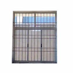 Modern Aluminium Grill Window, For Home