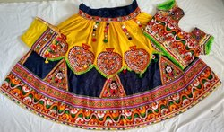 Ras Garba Chaniya Choli - Kutch Embroidered Lehenga Choli