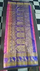 Casual Wear Border Ladies Sarees, 6 m (With Blouse Piece)