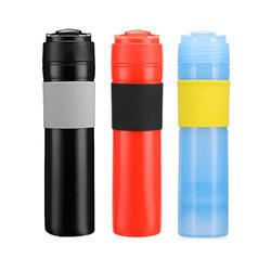 Portable Plastic Coffee French Press