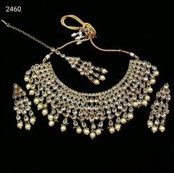 Brass Golden Artificial Jewelry, Size: Free