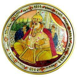 Marble Ganesha Plate