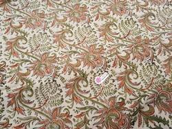 Indian Traditional Hand Block Printed Fabric