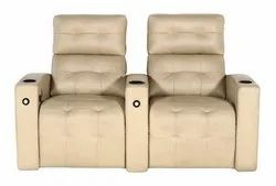 Recliner india White Reclining Sofa, Size: 36.6x26.6 Inch
