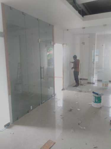 Transparent Frame Less Toughened Glass Door Rs 750 Square Feet Global Glass Technologies Id 11680161362
