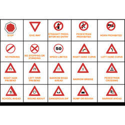 Road Safety Signage Installation Services