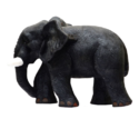 Real Look Grey Small Elephant Pair