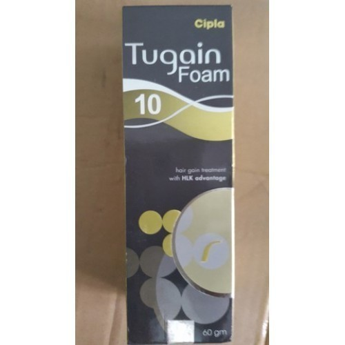 Cipla Tugain Foam, Adult: 5 Mg/day