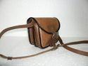 Designer Leather Small Messenger Bag