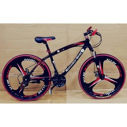 21 Shimano Gears Red and Black Foldable Cycle