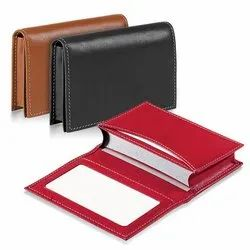 Card Holder With Window ID Pocket