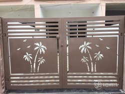 Hinged Decorative Main Gate For Home