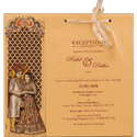 Color Paper Wedding Card Printing Services, Location: Pan India