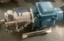 Ointment In-line mixer/homogeniser