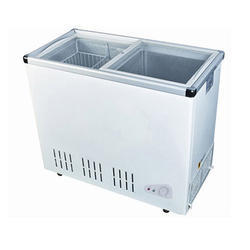 Blue star Stainless Steel Glass Top Chest Freezer, 1055x740x855 Mm, 0-10 Degree Celsius