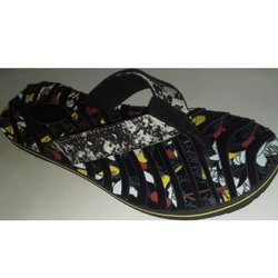 WOMENs Embossed PVC Slippers