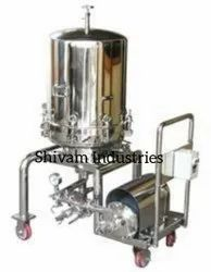 S.S Syrup Filter Machine