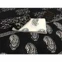 Vastrang Black And White Cotton Suit Set