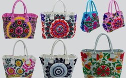 Embroidered Handmade Bags