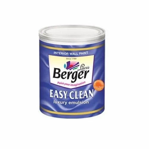 Berger Easy Clean Paint, Packaging Type: Bucket