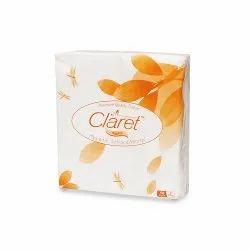 Claret Premium Quality 27X30cm Paper Napkins -2 Ply 50 Pulls