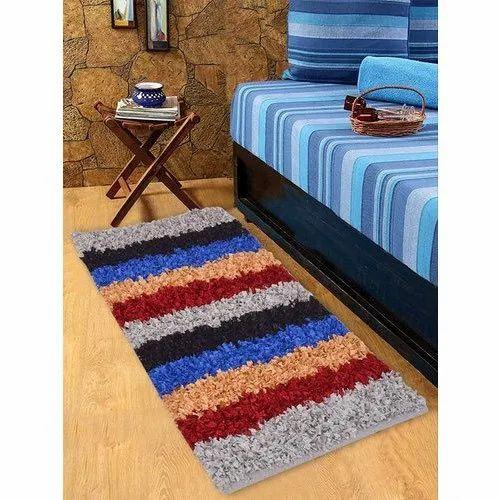 Cosmorugs Multi Color Soft Carpet