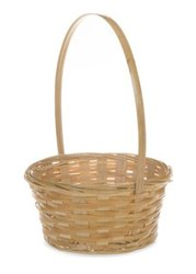 Mini Bamboo Handle Basket