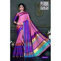 Trendy Cotton Silk Saree